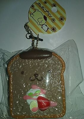 Licensed Sanrio Pompom Purin Chocolate French Toast Squishy