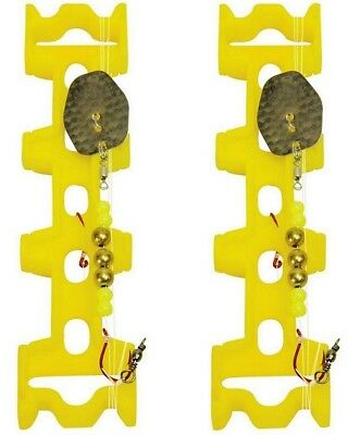 2 x Plano 1950 Snell Leader Rig Holders - Keeps Pre-Rigged Leaders Tangle Free
