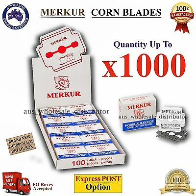 Merkur Corn Blades Cutter Razor Callus Hard skin Remover Shaver Made-in-Germany