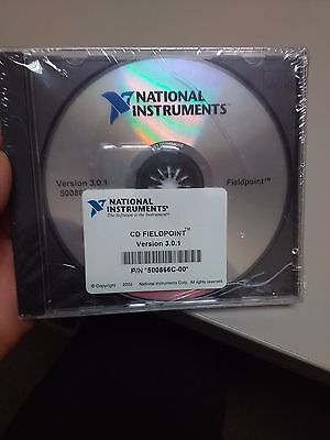 NATIONAL INSTRUMENTS 500866C-00  CD FIELDPOINT Version  3.0.1  brand new