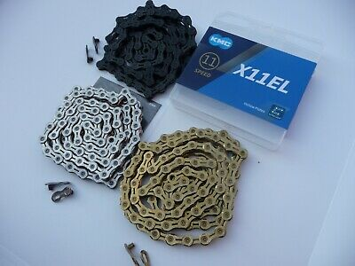 KMC X11-EL EXTRA LIGHT 11 Speed Bike Chain MTB Mountain Road Boxed Bicycle X11EL