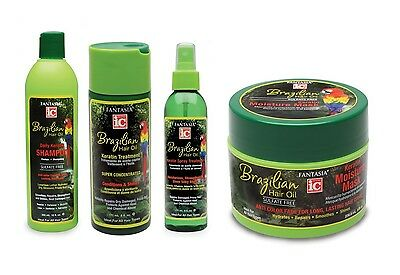 Fantasia ic Brazilian Hair Oil Moisturising Kertain Hair Care Styling Products