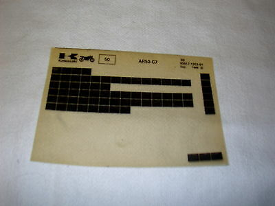 Kawasaki Ar50 Ar 50 C7 Gen Part Catalogue Microfiche