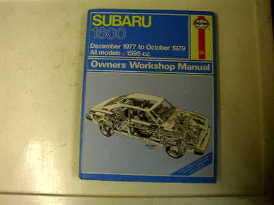 Subaru 1600 1977 - 1979 Used Haynes Workshop Manual
