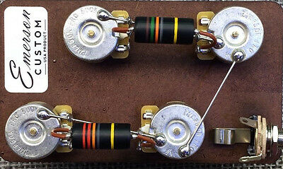 Prewired LP Kit Short Shaft Bumble Bee Emerson Custom fits to Les Paul ®