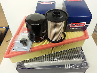 Mondeo MK4 1.8 TDCi Oil Air Fuel Cabin Filter Service Kit Sump Plug 2007-2012