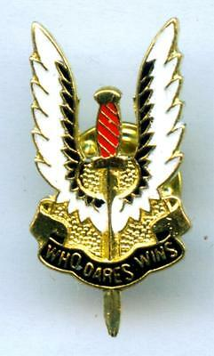 SAS Anstecker Pin  Special Forces Army SWAT Who dares wins