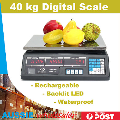 Brand New Kitchen Scale Digital Commercial Shop Electronic Weight Scales Food