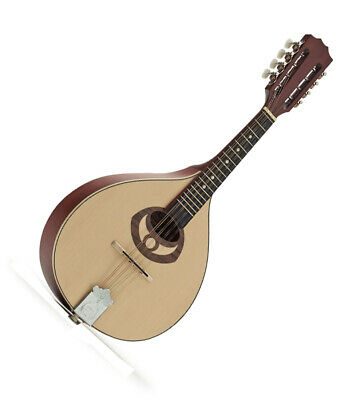 New Ozark 2001 Romanian Style Mandolin - Solid Top Back And Sides  Satin Finish