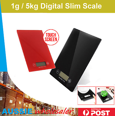 Digital Kitchen Scale Food Diet Postal Electronic Weight Balance 1g/5kg
