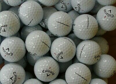 24 Callaway Chrome Soft Pearl / Grade A Golf Lake Balls Free Delivery