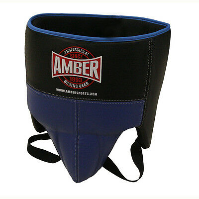 Amber Boxing Gel No Foul Groin Protector Cup Kickboxing Muay Thai MMA Training