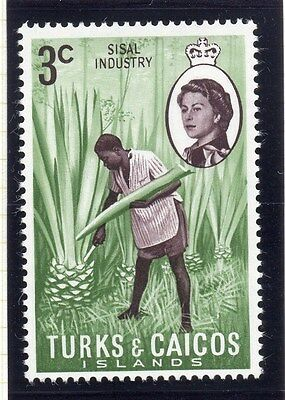 Turks and Caicos Islands 1971 Issue Fine Mint Hinged 3c. 064112