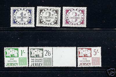 GB JERSEY 1969 first Postage Dues VF MNH