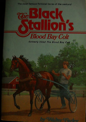 The Black Stallion's Blood Bay Colt by Walter Farley paperback c.1978