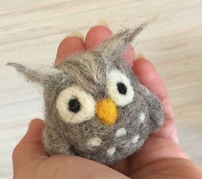 Needle Felting Kit Owl Wool Needle Tutorial New In The Package