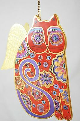 Laurel Burch Fantastic Angeli-Cats ANGELIQUE Bradford Editions Ceramic Ornament