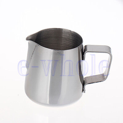 1500ml 50oz Stainless Steel Jug Cup for Frothing Milk Lattes Chocolate Coffee EW