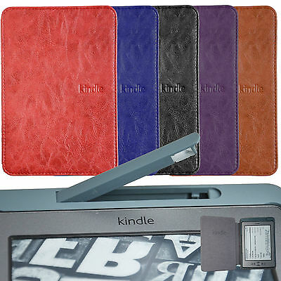 Ultra Slim Case Cover WITH Build In LED Light For KINDLE 4 /5 +SCREEN PROTECTOR