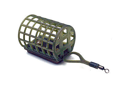 10 x Medium barbel mesh feeders ideal for river fishing in 4 weights