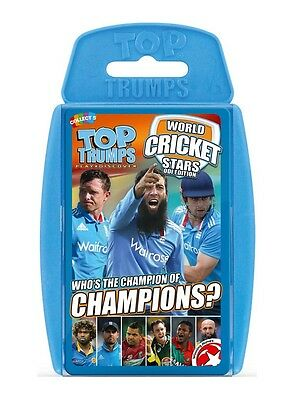 Top Trumps 2016 World Cricket Stars Card Game Brand New
