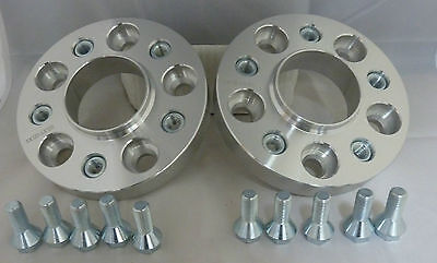 BMW 5 series E60 25mm Alloy Hubcentric Wheel Spacers 5x120 72.5CB 1 PAIR