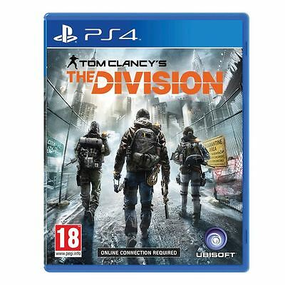 Gioco Ps4 Playstation 4 Tom Clancy's The Division Nuovo New Originale Italiano
