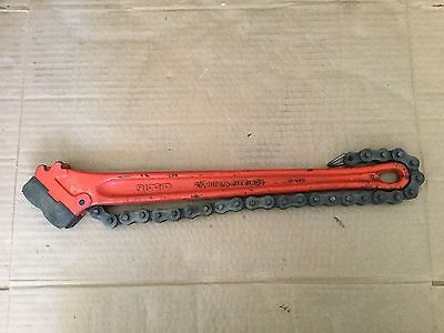 "Ridgid 2-1/2"" Heavy-Duty C-18 Chain Wrench"