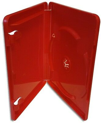 Single Sony PS3 14mm RED Game Case with Playstation 3 & Blu-ray Logos 10-Pak