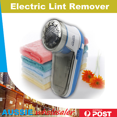 Portable Electric Lint Pill Fuzz Remover Fabric Shaver Trimmer Machine Cleaner