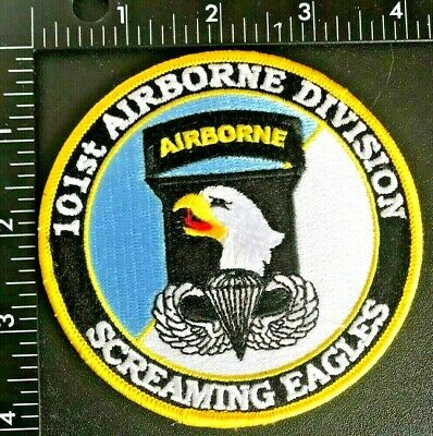 US ARMY 101st AIRBORNE DIVISION COMMEMORATIVE PATCH