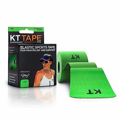 KT TAPE Original Cotton Elastic Kinesiology Therapeutic 20 Pre Cut 10 Inch Strip