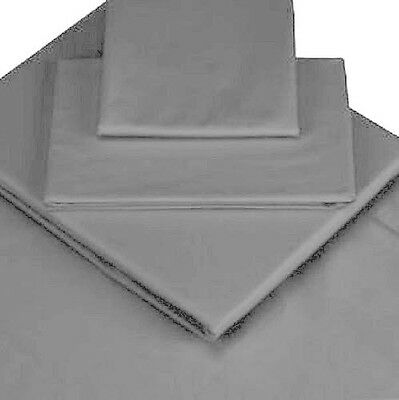 Quality Grey Percale Bedlinen,fitted Sheets,pillow Cases,sheet Valances,lovely