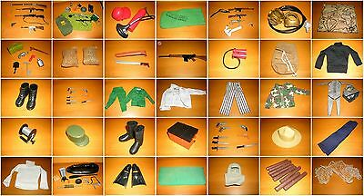 Action Team Outfits und Zubehör Action Man G I Joe Hasbro 1970s 1970er (2)