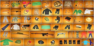 Action Team Outfits und Zubehör Action Man G I Joe Hasbro 1970s 1970er (1)