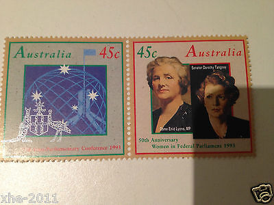 1000 Australian MUH Full Gum 45 cents Postage Stamp, Unused Mint - Face $450
