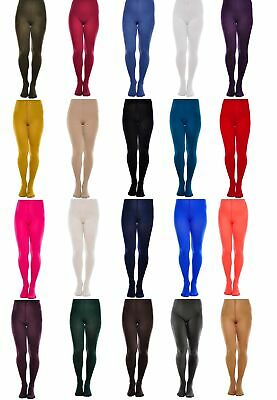 Classic 60 Denier Microfibre Hosiery Tights S M L XL Range Colours HIGH QUALITY
