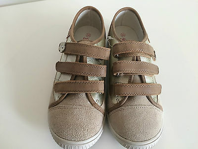 012cc6b33bc2d CHAUSSURES NEUVES fille DPAM taille 34 EMS3F BEIGE FONCE