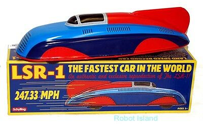 LSR-1 Land Speed Record Car Tin Toy Schylling