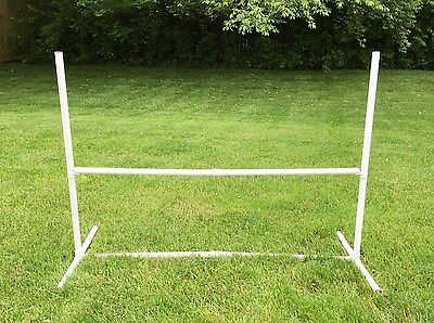 "Canine Agility Equipment ~ Free Standing Single Bar Dog Jump (48"" Wide)"