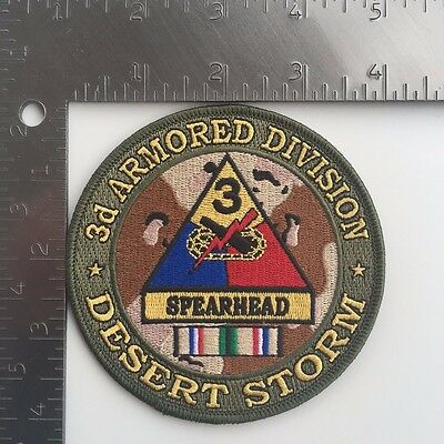 US ARMY 3rd ARMORED DIVISION DESERT STORM PATCH