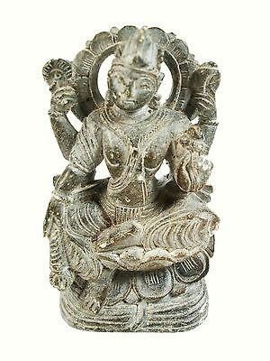 LORD VISHNU - Vintage South Asian/Hindu Stone Carving - India - Mid 20th Century