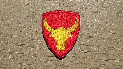 WW2 US Military ARMY 12TH INFANTRY DIVISION PHILIPPINE PATCH Scout SSI Cut Edge