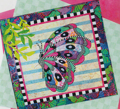 Beatrice - applique & pieced butterfly wall quilt PATTERN - BJ Designs