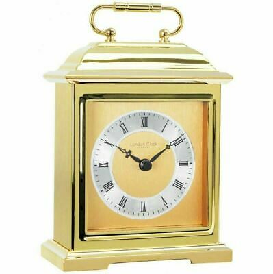 Solid Brass Traditional Carriage  Mantle Clock by London Clock Company
