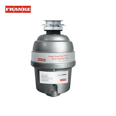 Franke Waste Disposers - TP-75 Waste Management System, Basso Switch, Brand New