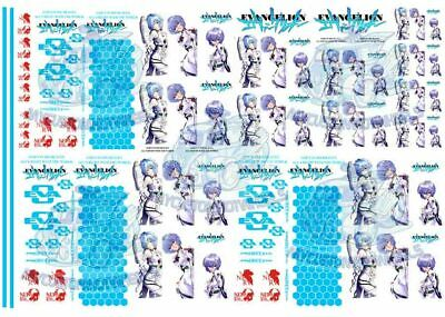 Neon Genesis Evangelion | Waterslide Decals in all scales from 1:64 to 1:24
