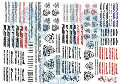 MAZDA RE Amemiya Racing | Waterslide Decals in all scales from 1:64 to 1:18