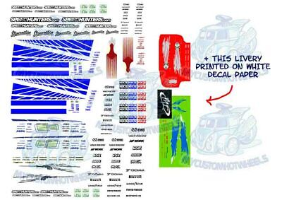 Fast & Furious Decal Pack | Waterslide Decals for 1/64 Hot Wheels Diecast Cars