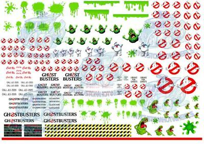 Ghostbusters Ecto 1 Decal Pack | Waterslide Decals in 1/64 and up to 1/18 scale